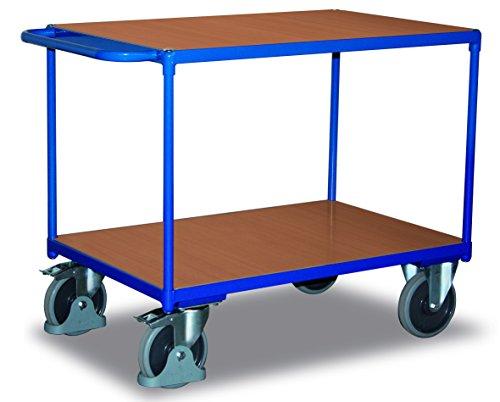VARIOFIT Tischwagen Transportwagen, Eigengewicht: 37 kg, Ladefläche: 850x500 mm