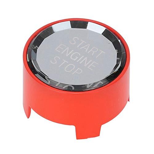 Shipenophy Cubierta de botón de Motor de Interruptor Duradero Cristal de modificación de Ajuste Profesional para 2 Series F22 F23 2014-2019(Orange)