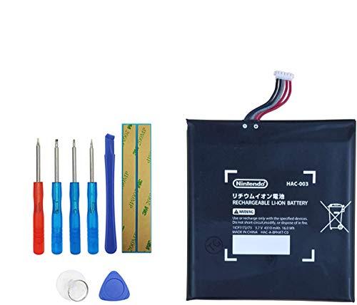 Upplus HAC-003 - Batería de Repuesto Compatible con Nintendo Switch Console HAC-003 4310mAh con Kit de Herramientas