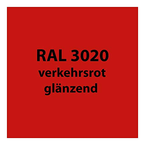 250 g Pulverlack Beschichtungspulver Pulverbeschichtung pulverbeschichten PG 2 (RAL 3020 verkehrs-rot glänzend)