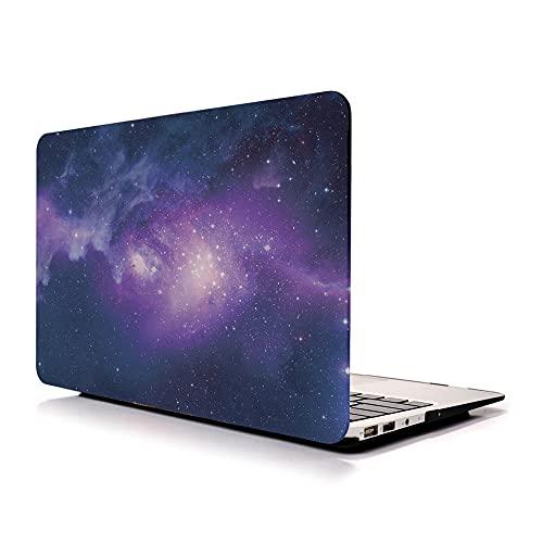 ALX-Dec Maletín Para Portátil Compatible Con Macbook Pro (2020/2019/2018/2017/2016) Carcasa Rígida De Plástico Touch Bar/Púrpura / A1706/A1708/A1989/A2159/A2338