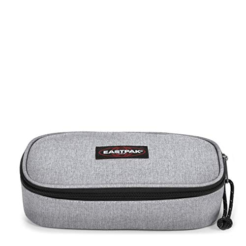 Eastpak Oval XL Single Federmäppchen, 22 cm, Grau (Sunday Grey)