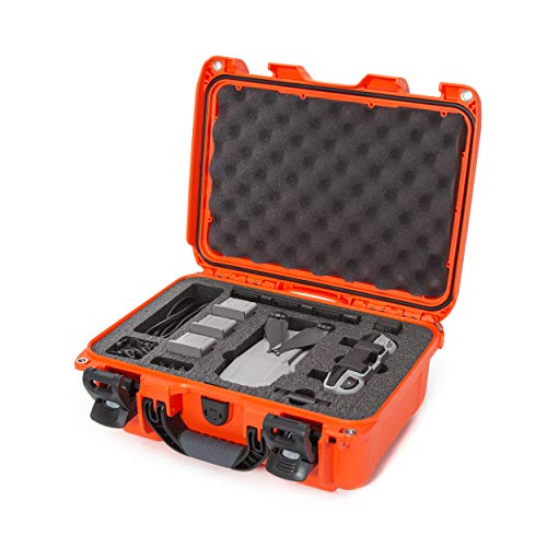Nanuk 915 Waterproof Hard Case with Foam Insert for DJI Mavic Air 2 - Orange