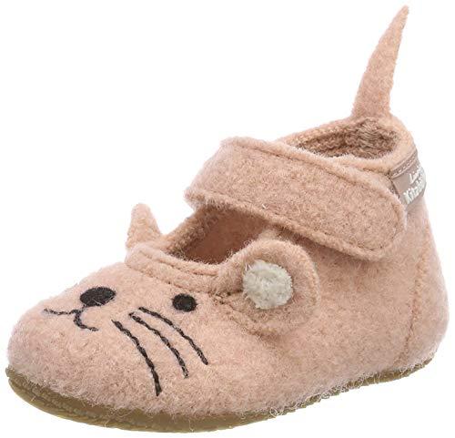 Living Kitzbühel Jungen Mädchen Babyballerina Maus Hausschuhe, Pink (Rose Cloud 331), 26 EU