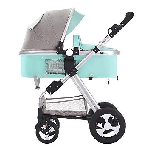 BMM-Prams baby-kinderwagen – hoge zichtbaarheid, omklapbaar, voor babybed en peuters