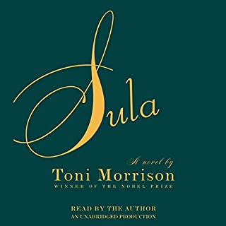 Sula audiobook cover art