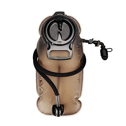 YEVHEV Vessie d'hydratation avec valve de morsure - Vessie étanche en TPU - Sans BPA - Pour escalade, trekking, cyclisme, alpinisme, sports de plein air