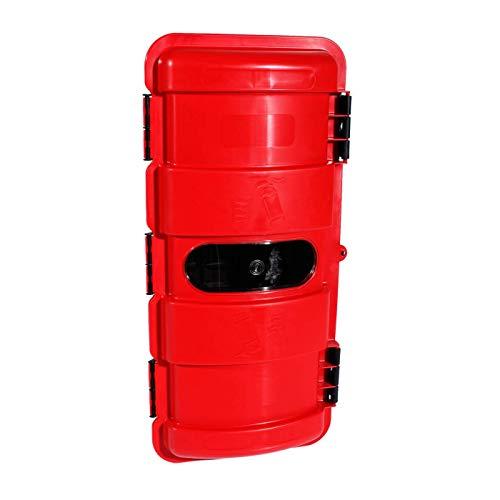 Feuerlöscherkasten für 6kg Feuerlöscher | mit Sichtfenster | LKW, NFZ, Wandmontage
