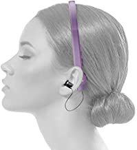 Paww SilkSoundX Bluetooth Workout Headphones - Unisex Lightweight & Sweat Proof Wireless Headphone w/Equalizer, Retractable Earbuds & Microphone - Mobile Music Accessory for Sports & Gym Exercise