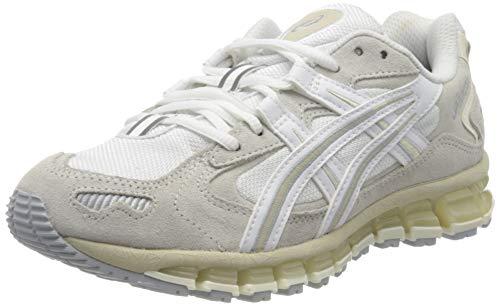 ASICS Damen Gel-Kayano 5 360 Running Shoe, White/Cream, 43.5 EU