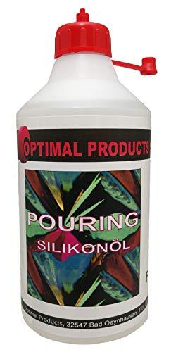 Pouring Silikonöl 500ml sehr ergiebig einfach zu dosieren für beste Ergebnisse !