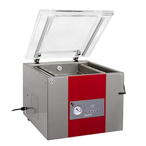 Vakuumiergerät KV 415-2 Schweißbalken - Vakuumpumpe: 20 m³/h - Vakuum: 99% - Kammerabmessung (BxLxH): 450 x 290 x 140 mm