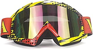 Sunglasses Cross-country Ski Goggles Anti-impact Eye Protection Goggles Motorcycle Glasses UV Protection (Color : NO.3)