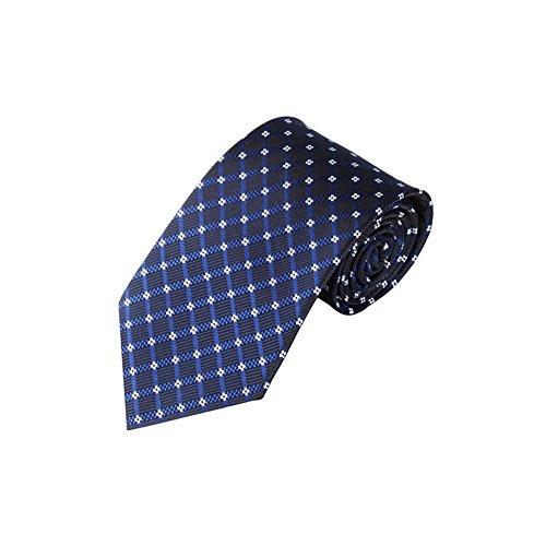 Yosemite Cravate classique à rayures pour homme - Style professionnel