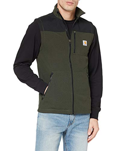 Carhartt Fallon Vest Gilet Pullunder, Olive, XL Uomo