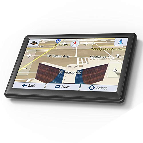 GPS Navigation for Car, 7 Inch 8GB HD Touch Screen Built-in 256MB GPS Navigation System,Voice Navigation for Car GPS,Navigator with Trucks Lifetime Map Update
