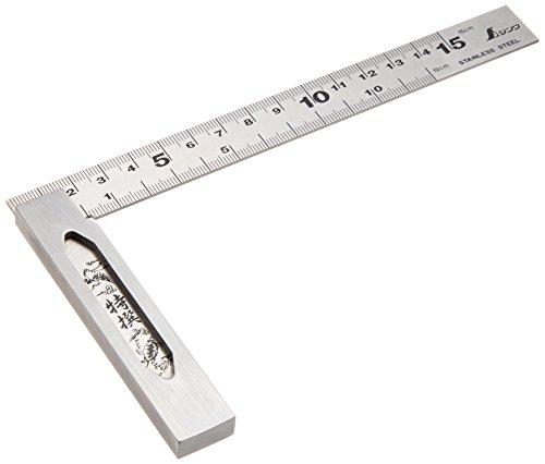 シンワ測定(Shinwa Sokutei) 完全スコヤ cm目盛 15cm 62009