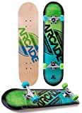 Arcade Pro Skateboard 31' Standard Complete Skateboards Professional Complete Board w/Concave - Skate Boards Great for Beginners, Adults, Teens, Youth & Kids (7.75' Origin)