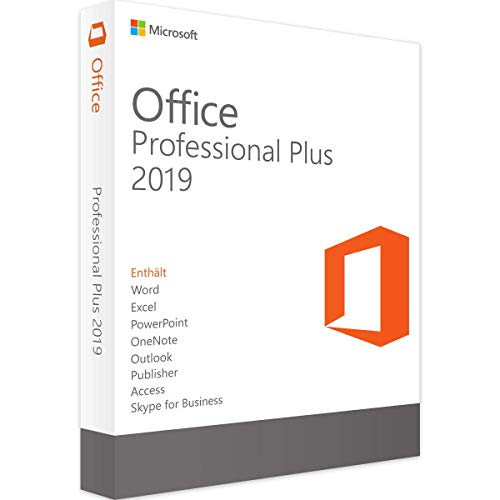 Microsoft Office Professional PLUS 2019 - Digital Download -