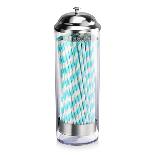 Our #2 Pick is the New Star FoodService Straw Jar Dispenser