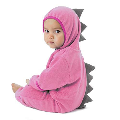 Cuddle Club Baby Bunting Defect - DinoPink/Grey18-24m