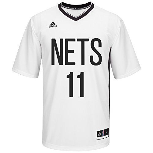 NBA Men's New Jersey Nets Brook Lopez Replica Player Pride Jersey, Large, White