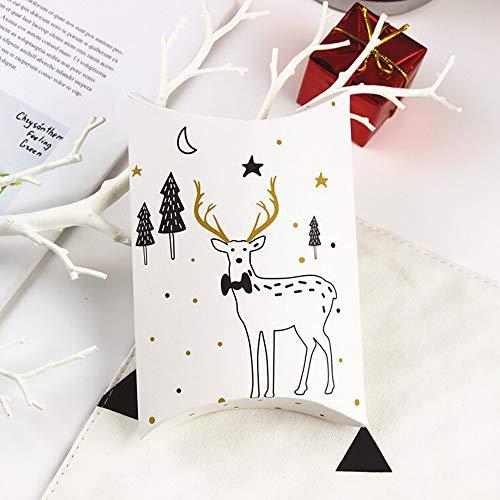 Adventskalender Zum Befüllen Papiertüten Elch Weihnachtsbaum Bemalen Weihnachten Deko Geschenktüte Beutel