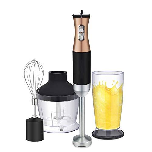 Batteur Electrique de Cuisine 3-in-1 électrique Presse-purée Set main Blender Multi Tool - Blends, purées et Fouets, Immersion Mixer |Parfaitement Blends et purées aliments for bébés légumes et pommes