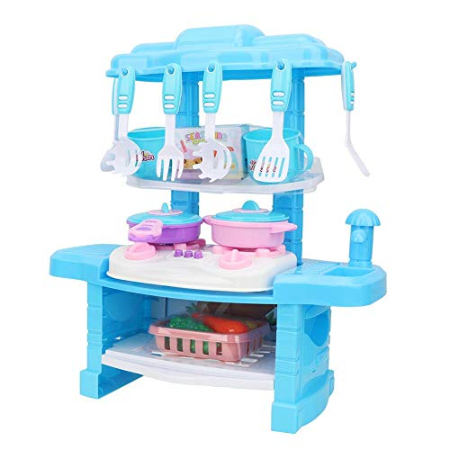 Cooking Toy, Cooker Pretend Toy, Music Light Baby Cooker Toy, Kitchen Cooking Toy, for Kid Role Play Mini Kitchen