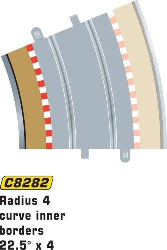 Hornby France - C8282 - Scalextric - Voiture - Bordures et barrieres intérieures