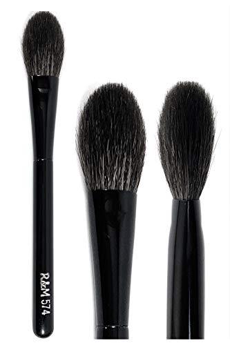 R&M 574 Pinceau de maquillage naturel doux professionnel pour poudre