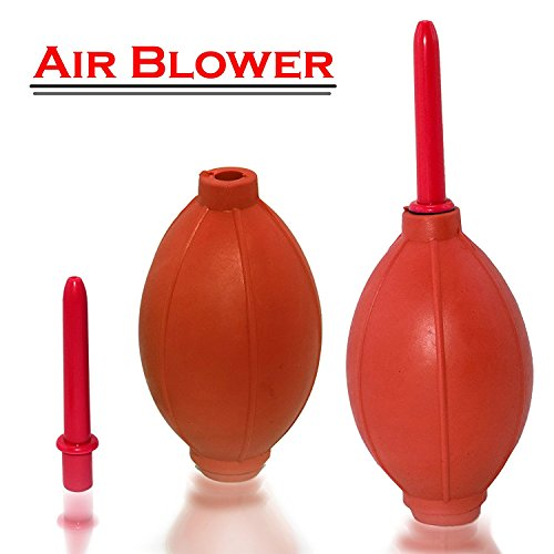 Rubber Air Pump Cleaner Dust Blower for Keyboard,Digital SLR Camera, Lens, Watch, Cell Phone, Computer Laptop PC and Screen