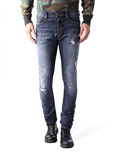 Diesel Tepphar L.32 Jeans Tapered, Blu (Denim 01), Taglia Produttore:30 Uomo