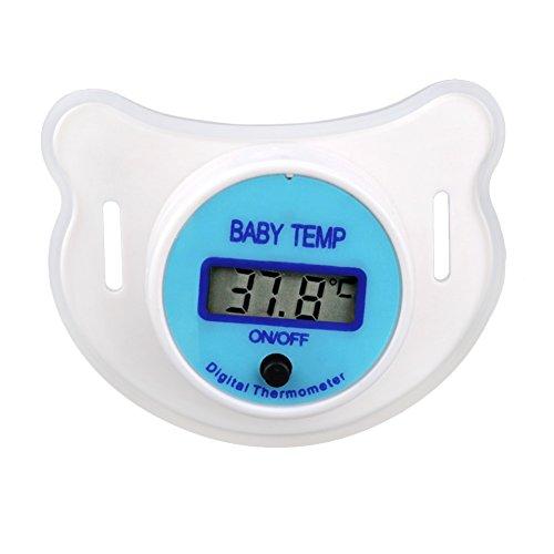 Rokoo Soft Infant Baby Kind Nippel LCD Digital Mund Schnuller Thermometer Kinder Gesundheit Sicherheitspflege