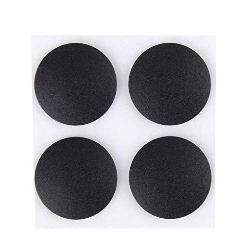 Diamoen 4pcs MacBook pies de Goma Almohadilla Adhesiva Antideslizante portátil Parte Inferior de la Cubierta Antideslizante portátil Cubrir Pie de Repuesto para MacBook Pro A1278