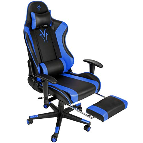 Femor Gaming Chair Office Chair with Footrest...
