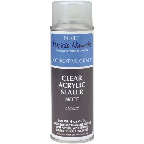 Scellant mat acrylique clair Aérosol Spray-6 onces