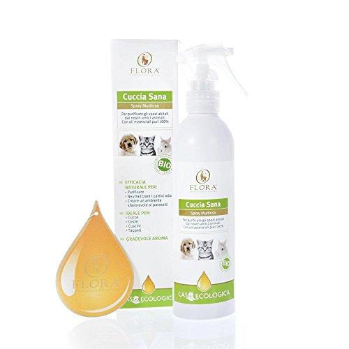 Flora - Cuccia Sana spray per ambienti igienizzante e deodorante bio 200ml