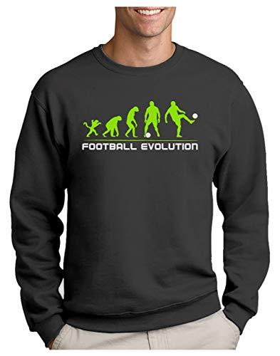 Green Turtle Sudadera para Hombre - Regalos para Deportistas - Evolution Football