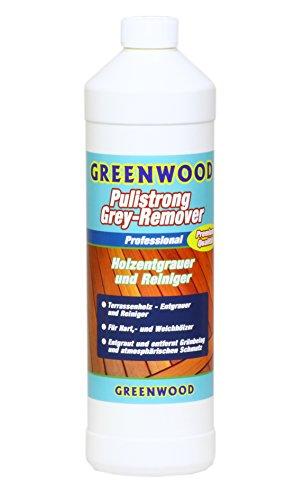 Green Wood WPC-BPC legni duri ingrigiti - Remover gartenfreude terra Sen pannelli legni duri ingrigiti - profondità di lavaggio WPC-BPC accordarvi fabbrica i tessuti. 1 litro