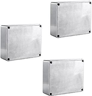 ESUPPORT 1590BB Aluminum Metal Stomp Box Case Enclosure Guitar Effect Pedal Pack of 3