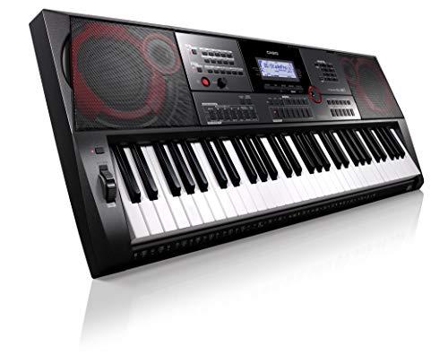 Casio CT-X5000 Top Keyboard mit 61 anschlagdynamischen Standardtasten, Begleitautomatik und starkem Lautsprechersystem