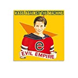 rage against the machine framed - Rage Against The Machine Poster Evil Empire Canvas Poster Wall Art Print Gift Picture Painting Posters Artwork Home Decor Framed-unframed 12x12inch(30x30cm)