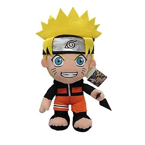 xuritaotao 30 cm Anime Naruto Uzumaki Naruto Plüsch Puppe Spielzeug Uzumaki Naruto Cosplay Kostüm Plüsch Weiche Stofftiere Geschenk Für Kinder Kinder