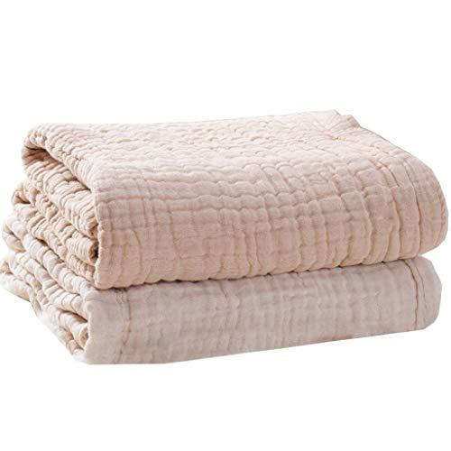 geneic 6 capas de algodón bebé recibido manta bebé bebé niños envoltura manta manta dormir caliente colcha cama cubierta muselina bebé manta