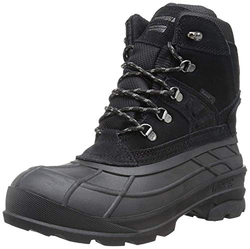 Kamik Men's Fargo Snow Boot,Black,7 M US