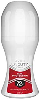 Avon On Duty Max Protection Antiperspirant Women's Roll-On Deodorant 50 ml