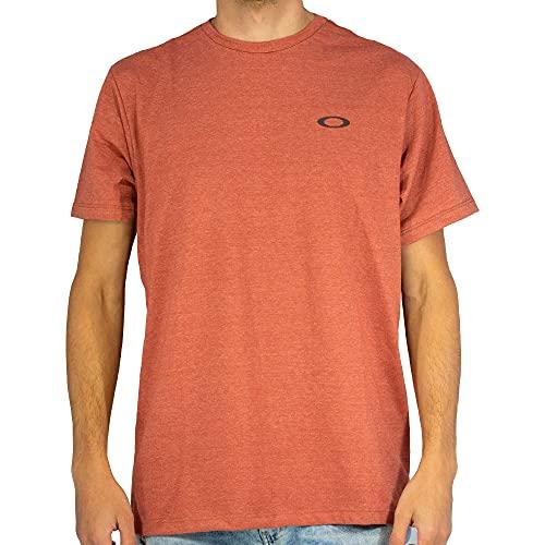 Camiseta Oakley Icon Tee 458170Br-41Y M Vermelho