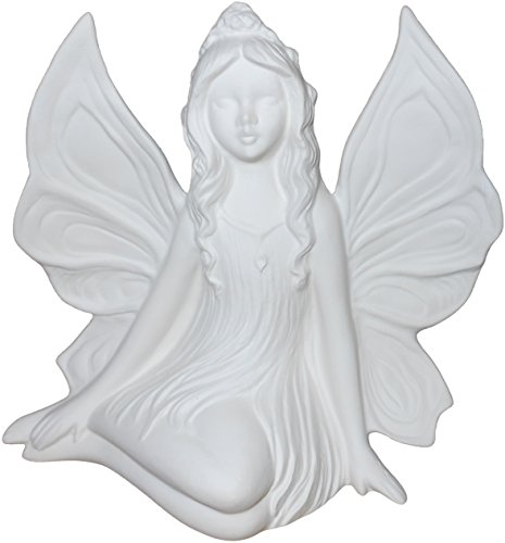 Ella The Fairy and Her Unicorn Stunning Detail Paint Your Own Mystical Ceramic Keepsake