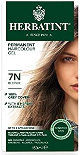 Herbatint 7N Permanent Herbal Blonde Haircolor Gel Kit - 3 per case.
